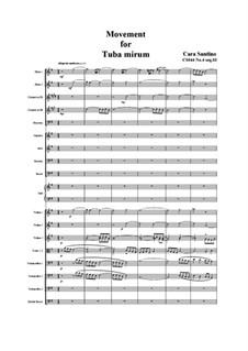 Missa requiem, CS044: No.04 sequenze 03 Tuba mirum, 04 Rex tremendae by Santino Cara