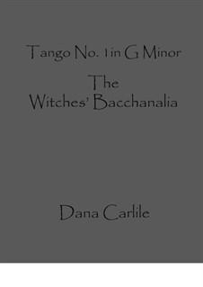 Tango No.1 in G Minor: Tango No.1 in G Minor by Dana Carlile