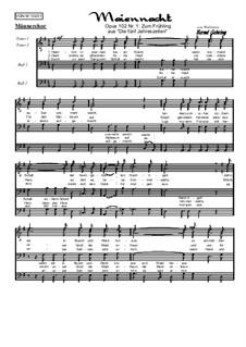 Die 5 Jahreszeiten Nr.1: Zum Frühling: Für Männerchor, Op.102 Nr.1 M by Oliviere Lebrierre