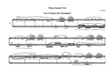 Piano sonata No.4, MVWV 600: Piano sonata No.4 by Maurice Verheul