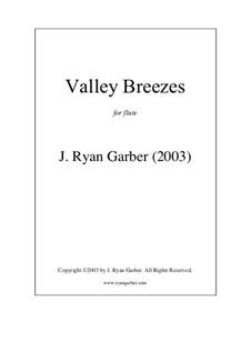 Valley Breezes: Valley Breezes by J. Ryan Garber