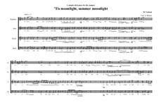 Choir piece on the lyrics of Emily Jane Brontë for SATB, MVWV 220: Choir piece on the lyrics of Emily Jane Brontë for SATB by Maurice Verheul