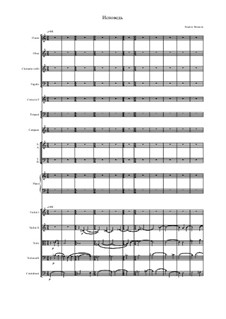 Confession: For symphonic orchestra by Cyril Fandeyev