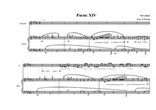 Song for Soprano and piano No.7 on a poem of Fernando Pessoa, MVWV 183: Song for Soprano and piano No.7 on a poem of Fernando Pessoa by Maurice Verheul