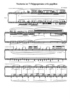 Nocturne No.7 for piano, MVWV 661: Nocturne No.7 for piano by Maurice Verheul