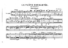 Vollständige Oper: Für Klavier, vierhändig by Wolfgang Amadeus Mozart