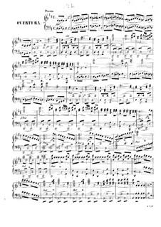 Vollständige Oper: Für Klavier by Wolfgang Amadeus Mozart
