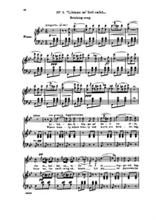 Libiamo ne'lieti calici (Brindisi): Für Stimme und Klavier (Englische und italienische texte) by Giuseppe Verdi