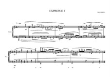 Expression No.1 for piano, MVWV 63: Expression No.1 for piano by Maurice Verheul