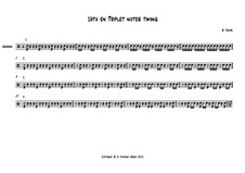 Exercise: 16th and Triplet notes timing: Exercise: 16th and Triplet notes timing by Stijn Jodts