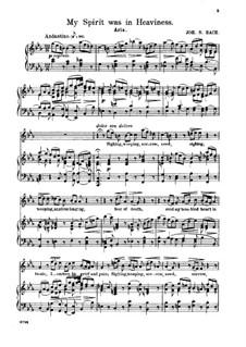 Ich hatte viel Bekümmernis, BWV 21: Seufzer, Traenen, Kummer, Not by Johann Sebastian Bach