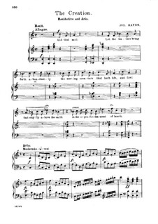 Die Schöpfung, Hob.XXI/2: On Mighty Pens Uplifted Soars by Joseph Haydn