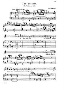 Die Jahreszeiten, Hob.XXI/3: O How Pleasing to the Senses by Joseph Haydn