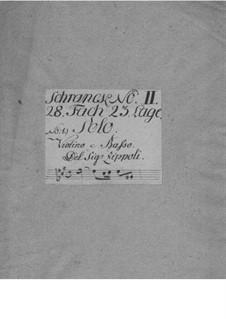 Sonate für Violine und Basso Continuo Nr.1: Sonate für Violine und Basso Continuo Nr.1 by Domenico Zipoli