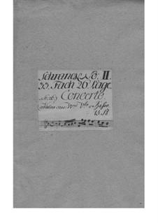 Konzert für Violine und Orchester in B-Dur, TWV 51:B1: Konzert für Violine und Orchester in B-Dur by Georg Philipp Telemann