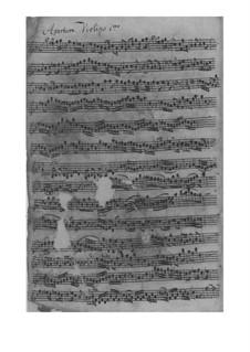 Suite für Violine und Orchester in g-Moll, TWV 55:g8: Suite für Violine und Orchester in g-Moll by Georg Philipp Telemann