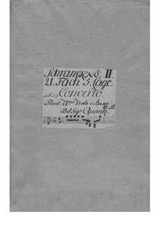Konzert für zwei Flöten und Orchester in g-Moll, QV 6:8: Konzert für zwei Flöten und Orchester in g-Moll by Johann Joachim Quantz