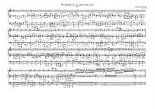Choralvorspiele (Übrige): Wir glauben all an einen Gott, BWV 740 by Johann Sebastian Bach
