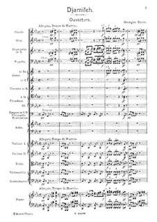 Djamileh: Ouvertüre by Georges Bizet