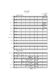 Kol Nidre, Op.47: Vollpartitur by Max Bruch