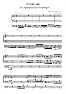 Präludium in g-Moll: Präludium in g-Moll by Johann Peter Kellner