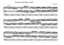 Toccata und Fuge in a-Moll: Toccata und Fuge in a-Moll by Johann Ludwig Krebs
