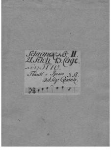 Triosonate für Violine, Flöte und Basso Continuo in B-Dur, QV 2:42: Triosonate für Violine, Flöte und Basso Continuo in B-Dur by Johann Joachim Quantz