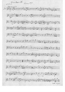 Sechs Quartette für Hörner: Sechs Quartette für Hörner by Louis-François Dauprat