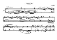 Fantasia No.2 for piano, MVWV 581: Fantasia No.2 for piano by Maurice Verheul
