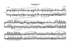 Fantasia No.3 for piano, MVWV 582: Fantasia No.3 for piano by Maurice Verheul