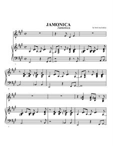 Jamonica: Jamonica by Brett McCluskey