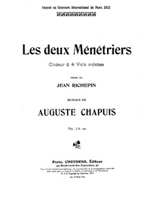 Les deux ménétriers: Les deux ménétriers by Auguste Chapuis