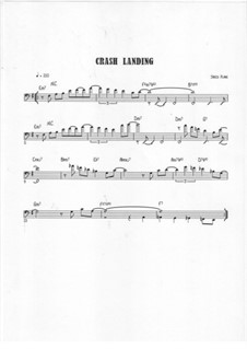 Crash Landing: Bass clef version by Jared Plane