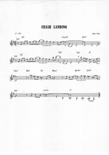 Crash Landing: Treble clef version by Jared Plane