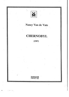 Chernobyl: Vollpartitur by Nancy Van de Vate