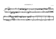 Counterpoint study for piano No.8, MVWV 259: Counterpoint study for piano No.8 by Maurice Verheul