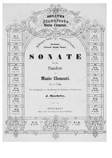 Zwei Sonaten, Op.34: Sonate Nr.1 by Muzio Clementi