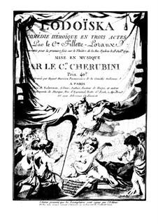 Lodoïska: Vollpartitur by Luigi Cherubini