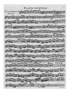 Konzert für Flöte und Orchester Nr.1 in D-Dur: Konzert für Flöte und Orchester Nr.1 in D-Dur by François Devienne