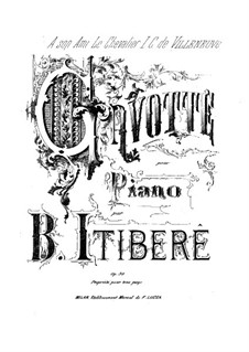 Gavotte, Op.30: Gavotte by Brazilio Itibere da Cunha