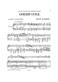 Konzertstück für Viola und Klavier: Konzertstück für Viola und Klavier by Leon Firket