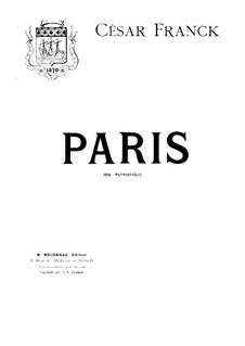 Paris: Paris by César Franck