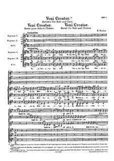 Veni Creator: Veni Creator by Hector Berlioz