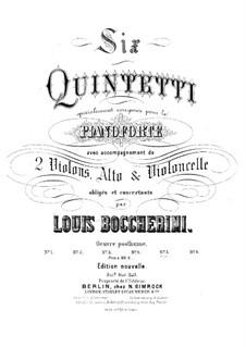 Klavierquintett Nr.5 in E-Dur, G.417, Op.57: Klavierquintett Nr.5 in E-Dur by Luigi Boccherini