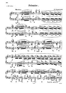 Polonäse in As-Dur 'Heroic', Op.53: Für Klavier by Frédéric Chopin