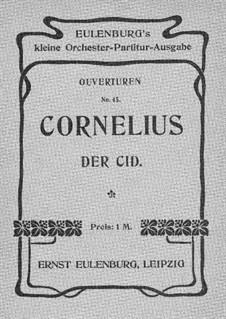 Der Cid: Ouvertüre by Peter Cornelius