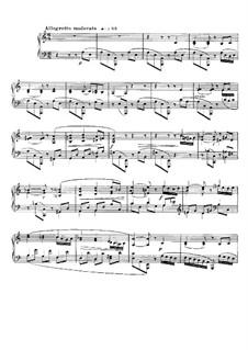 Barcarolle Nr.10 in a-Moll, Op.104 No.2: Barcarolle Nr.10 in a-Moll by Gabriel Fauré