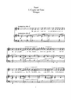 Mirage, Op.113: Mirage by Gabriel Fauré