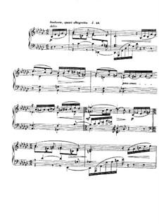 Barcarolle Nr.3 in Ges-Dur, Op.42: Für Klavier by Gabriel Fauré
