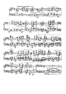 Barcarolle Nr.5 in fis-Moll, Op.66: Für Klavier by Gabriel Fauré